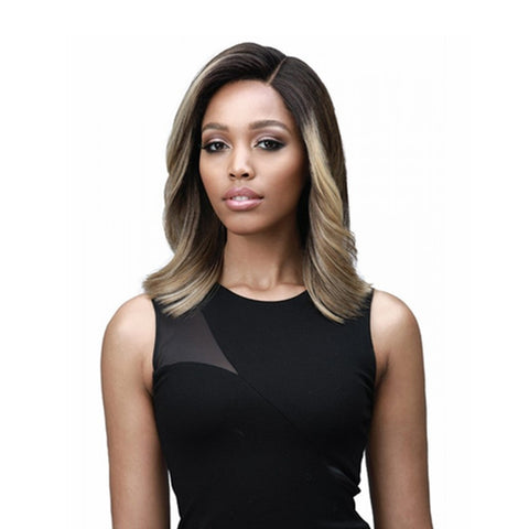"BOBBI BOSS 100% Premium Synthetic Hair 5"" Deep Part Lace Front Wig HARLOW"