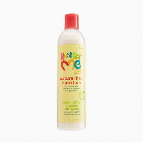 [Just For Me] Hair Milk Detangling Creamy Co-Wash 12Oz - C_Kids & Baby-Hair Care