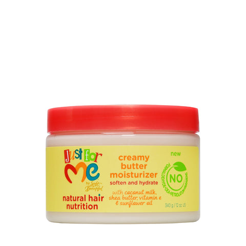 JUST FOR ME Hair Milk Creamy Butter Moisturizer 12oz