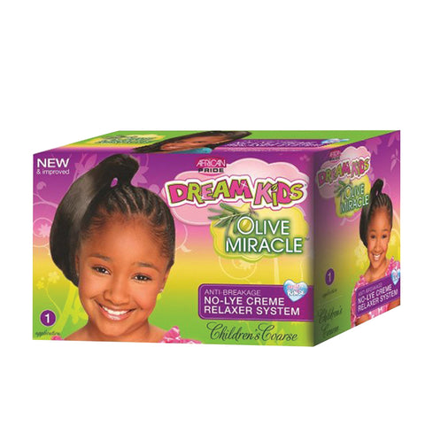 AFRICAN PRIDE DREAM KIDS No-lye Relaxer KIT