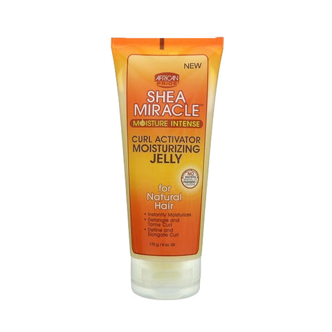 AFRICAN PRIDE SHEA MIRACLE Curl Activator Moisturizing Jelly 6oz