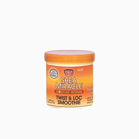[African Pride] Shea Miracle Twist & Loc Smoothie 12Oz - C_Hair Care-Braids & Locs & Twists
