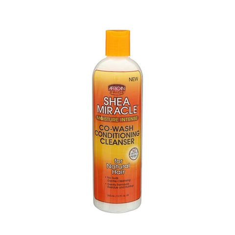 AFRICAN PRIDE SHEA MIRACLE Co-Wash Conditioning Cleanser 12oz