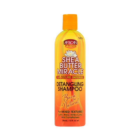 AFRICAN PRIDE SHEA BUTTER MIRACLE Shampoo 12oz