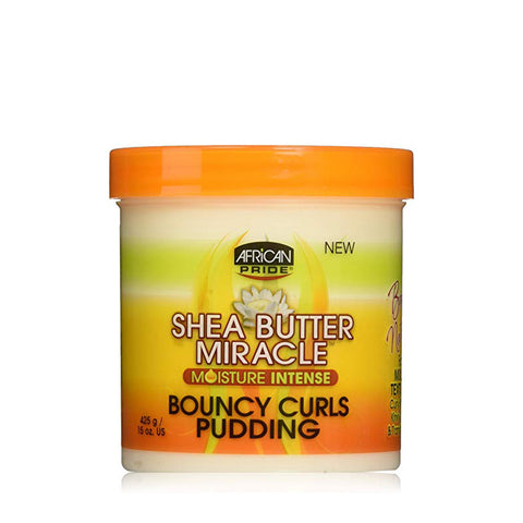 AFRICAN PRIDE SHEA BUTTER MIRACLE Curls Pudding 15oz