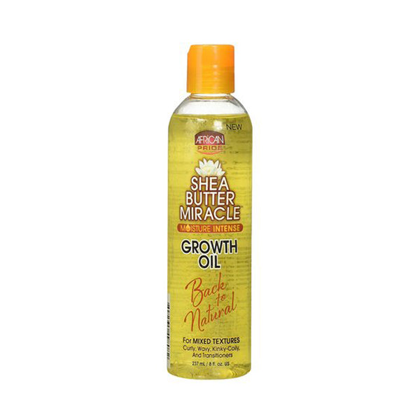 [African Pride] Shea Butter Miracle Growth Oil 8Oz - C_Hair Care