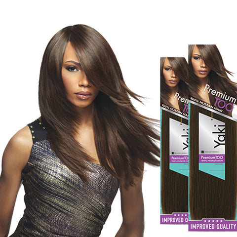 SENSATIONNEL PREMIUM TOO 100% Human Hair Yaki