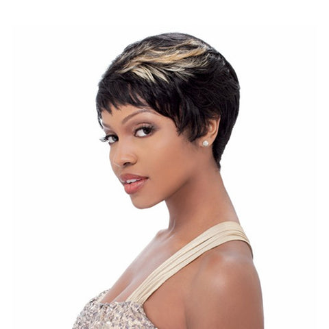 SENSATIONNEL BUMP Collection Human Hair Full Cap Wig EASY 27