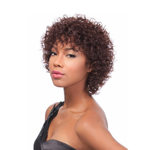 SENSATIONNEL BUMP Collection Human Hair Full Cap Wig NAYA