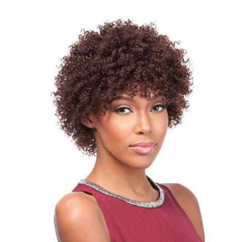 SENSATIONNEL BUMP Collection Human Hair Full Cap Wig TINY