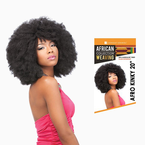 [Sensationnel] African Collection Weave Afro Kinky Wvg 20 - Weaves