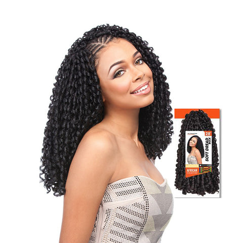 SENSATIONNEL African Collection Soft Dread Bulk 28""