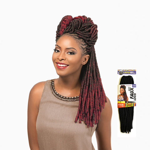 [Sensationnel] African Collection Soft Faux Locs Looped - Braid