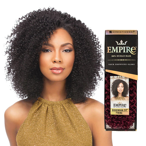 SENSATIONNEL EMPIRE 100% Human Hair Bohemian