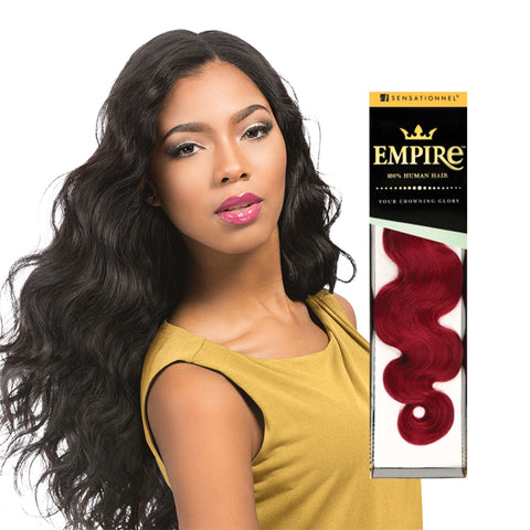 [Sensationnel] Empire 100% Human Hair Body Wave - Weaves