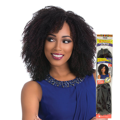 [Sensationnel] African Collection Crochet Braid Snap Pre-Looped Coil Curl 8 - Braid