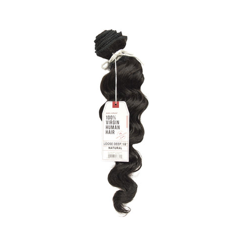SENSATIONNEL BARE & NATURAL 7A Virgin Remi Hair Loose Deep
