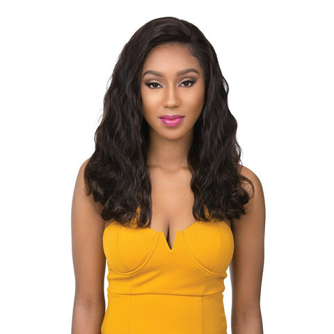 SENSATIONNEL 100% Virgin Human Hair FULL HAND-TIED LACE WIG BODY WAVE 22""