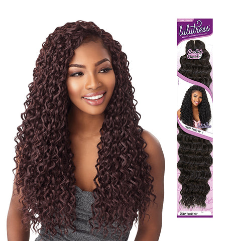 SENSATIONNEL LULUTRESS Braid Disco Curl 18""