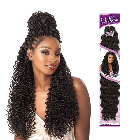 SENSATIONNEL LULUTRESS Braid Island Twist 18""