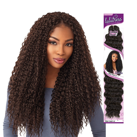 [Sensationnel] Lulutress Braid Wet Curly 18 - Braid
