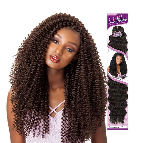 SENSATIONNEL LULUTRESS Braid Water Wave 18""