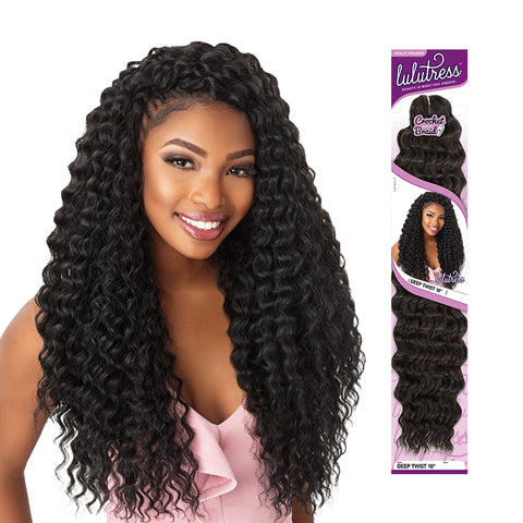 [SENSATIONNEL] LULUTRESS Braid Deep Twist 18""