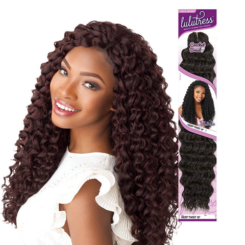 [SENSATIONNEL] LULUTRESS Braid Beach Curl 18""