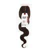 SENSATIONNEL BARE & NATURAL 7A Virgin Remi Lace Closure Body Wave