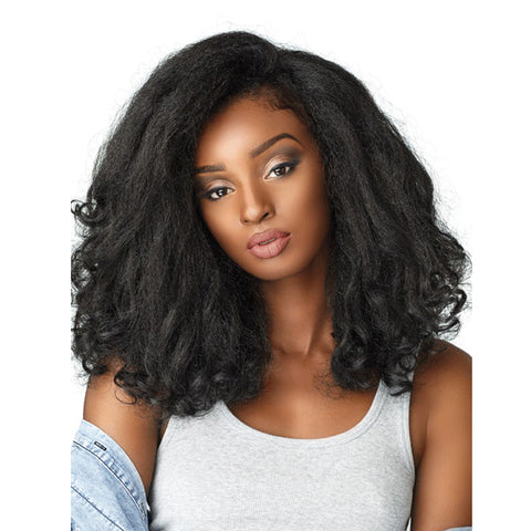 SENSATIONNEL 100% Premium Fiber Curls KINKS & CO Half Wig  Rain Maker