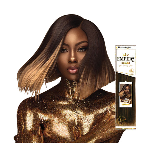 SENSATIONNEL EMPIRE 100% Remi Human Hair Gold Yaki