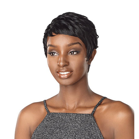 SENSATIONNEL Synthetic Instant Fashion Full Cap WIG  ANITA