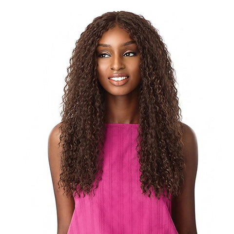 SENSATIONNEL Synthetic Empress Natural Center Part Lace Front Wig ALANI