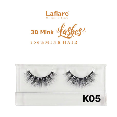 [Laflare] 3D Mink Lashes - K05 - Makeup