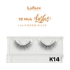 [Laflare] 3D Mink Lashes - K14 - Makeup