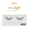 [Laflare] 3D Mink Lashes - K15 - Makeup
