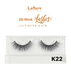 [Laflare] 3D Mink Lashes - K22 - Makeup