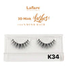 [Laflare] 3D Mink Lashes - K34 - Makeup