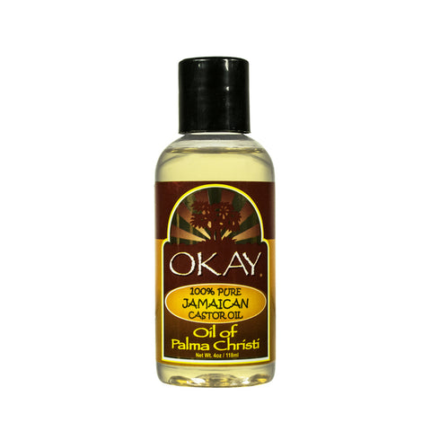 OKAY 100% Pure Jamaican Castor Oil 4oz