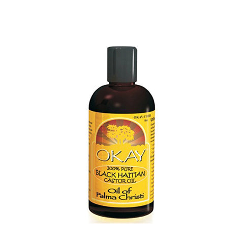 OKAY 100% Pure Black Haitian Castor Oil 4oz
