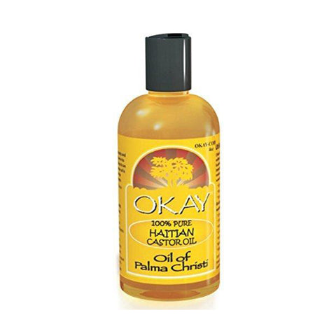 OKAY 100% Pure Haitian Castor Oil 4oz