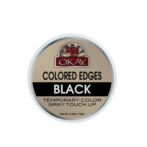 OKAY Colored Edges Temporary Color Gray Touch Up 0.50oz