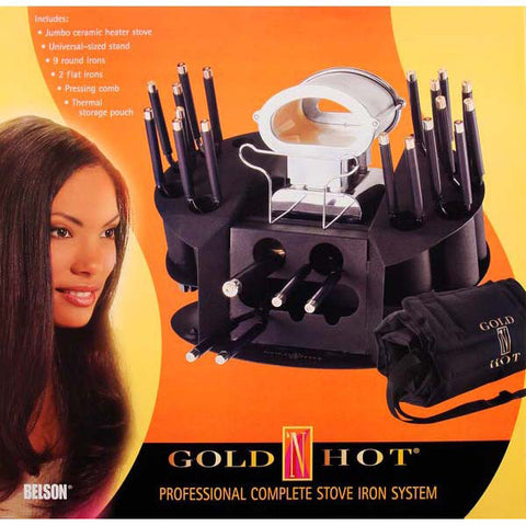 [Gold N Hot] Professional Complete Stove Iron System Set - Tools & Accessories