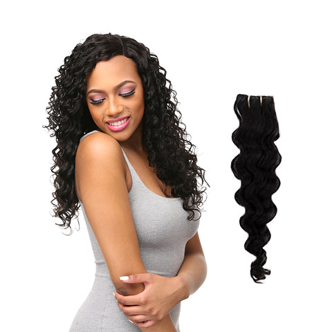[Laflare] Laflare 100% Unprocessed Brazilian Virgin Remy Hair Bundle Loose Deep - Weaves