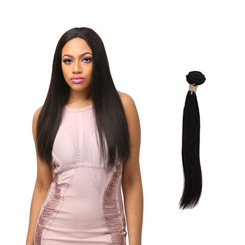 [Laflare] Laflare 100% Unprocessed Brazilian Virgin Remy Hair Bundle Straight - Weaves