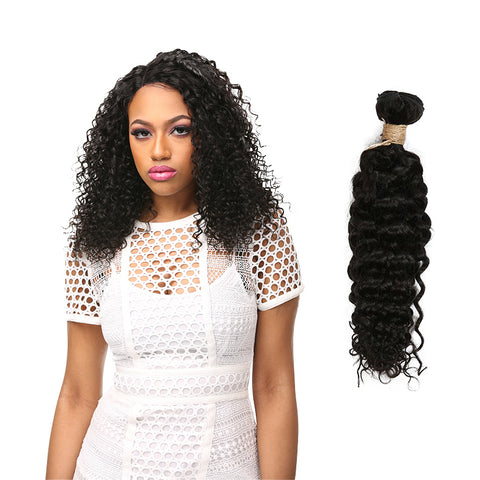 LAFLARE 100% Unprocessed Brazilian Virgin Remy Hair Bundle Bohemian