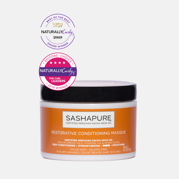 SASHAPURE Conditioner Masque 8 oz