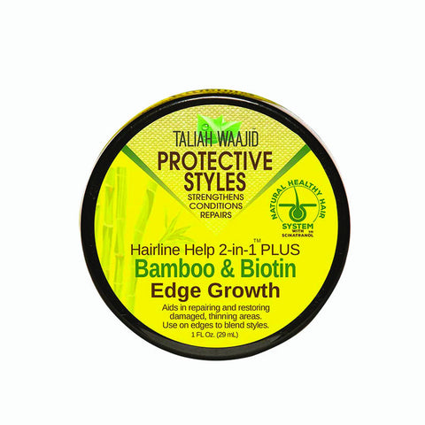 [Taliah Waajid] Protective Styles Bamboo & Biotin Edge Grow 1Oz - C_Hair Care-Braids & Locs & Twists