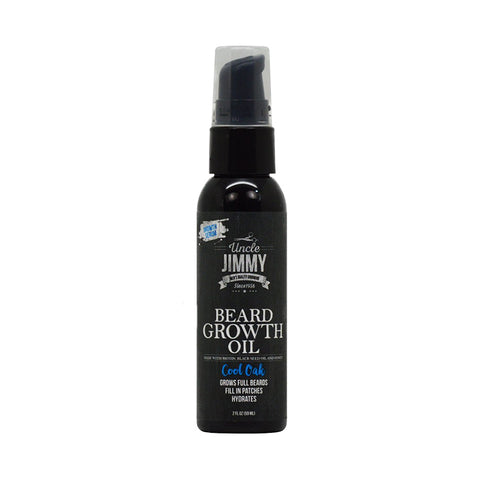 [Uncle Jimmy] Beard Growth Oil Cool Oak 2Oz - C_Mens-Skin Care