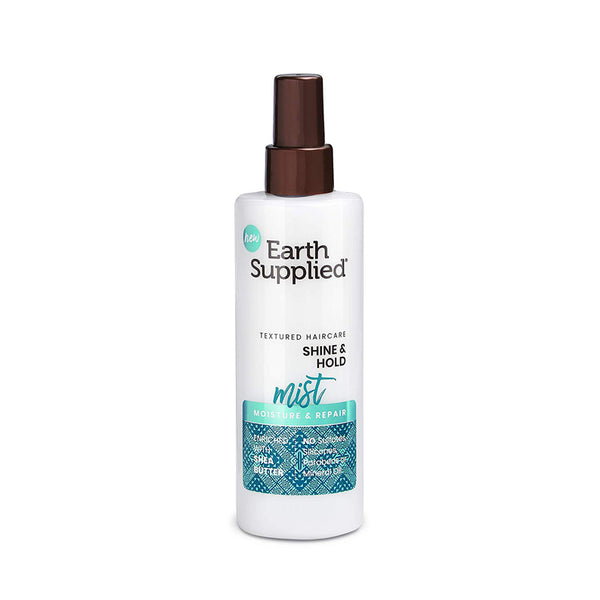 EARTH SUPPLIED SHEA BUTTER SHINE & HOLD MIST